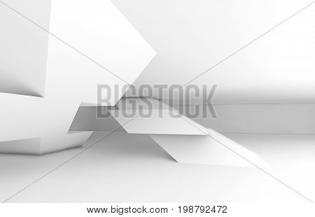 Polygonal Shaped Installation With Soft Shadows 3D