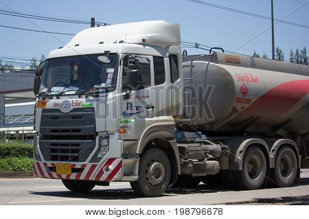 Oil Truck Of Pitchaya Oil Transport Company.