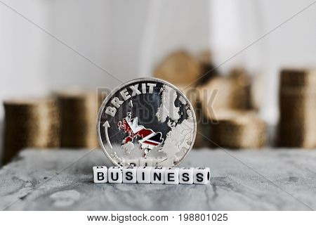 Brexit Business Coin