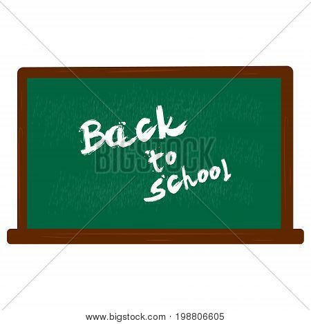 Welcome back to school, vector illustration colorful