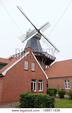the german village of ditzum in east frisia