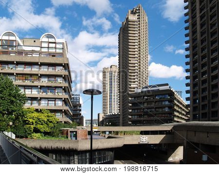 2017 The Barbican Housing Estate . Post modernist social housing at its best.