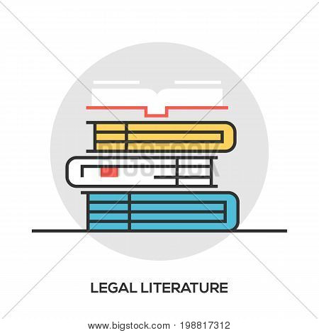 Book line icon, outline vector sign, linear style pictogram isolated on white. Library symbol, logo illustration