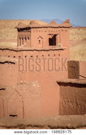 Kasbah Ait Benhaddou In The Atlas Mountains Of Morocco