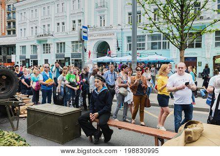 International Festival- Crowd Of People