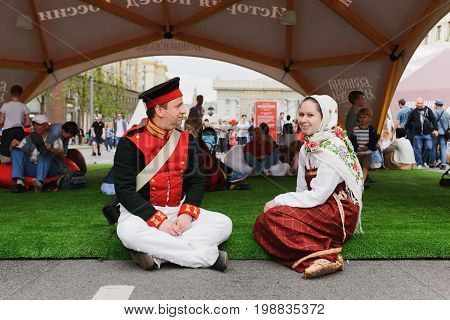 International Festival- Participants In The Historical Show