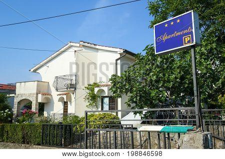 Apartment Rental Sign