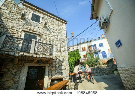 Old Town Core Of Njivice