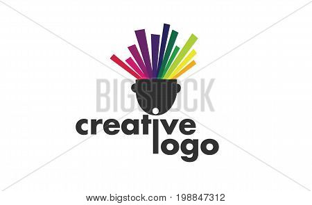 Vector - Creative Modern Logo, Isolated On White Background. Vector Illustration.