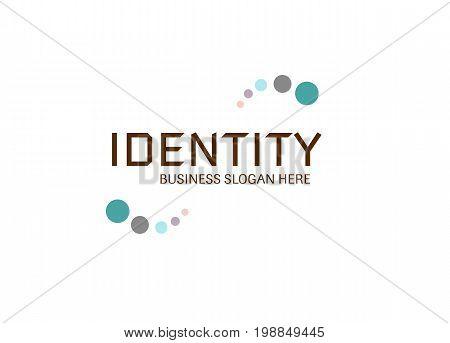 Vector - Identity Business Modern Logo, Isolated On White Background. Vector Illustration.