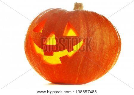 Funny Jack O Lantern halloween pumpkin