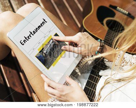 Entertainment Broadcast Streaming Digital Media