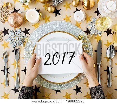 Hello 2017 Fresh Best Start New Year