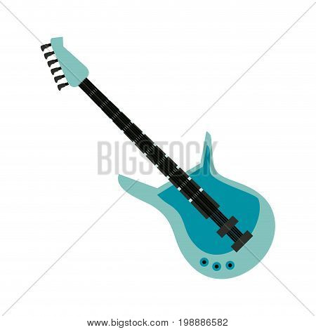 guitar musical instrument icon image vector illustration design