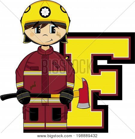 F Is For Fireman 23.eps
