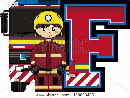 F Is For Fireman 24.eps