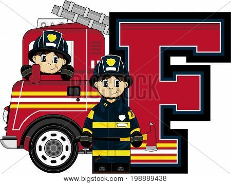 F Is For Fireman 27.eps
