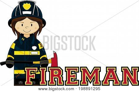F Is For Fireman 97.eps