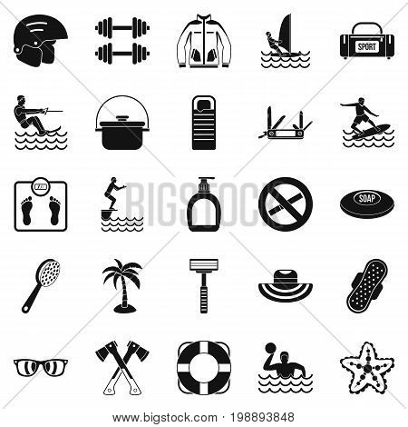 Healing icons set. Simple set of 25 healing vector icons for web isolated on white background