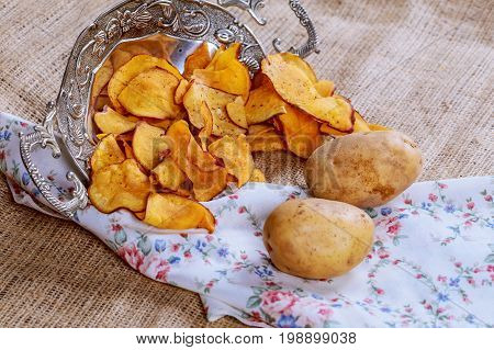 Crispy Potato Chips, Potato