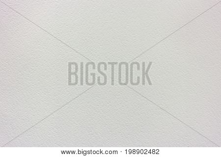 Clean And Empty White Pastel Or Watercolor Paper Background
