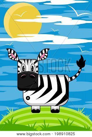 Zebra Scene