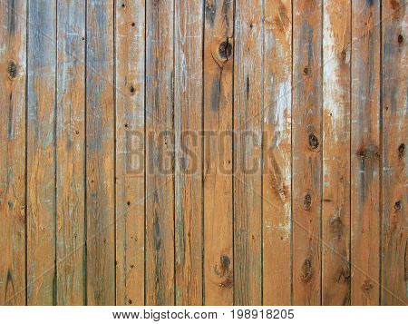 Wood texture background. Old panels. Broun wall.
