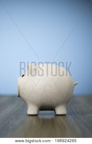 3d rendering of a papier mache piggy bank background