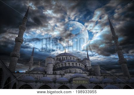 Sultanahmet Is Located In Istanbul.