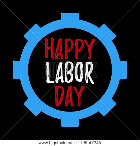 Happy Labor Day Banner And Giftcard.