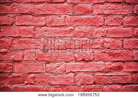 Modern brick wall, pink brick wall or brown brick wall textur for background.