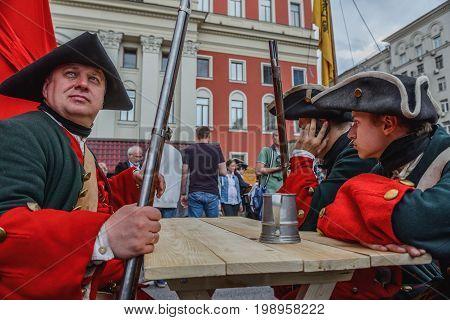 International Festival- Reconstructor Infantry Regiment