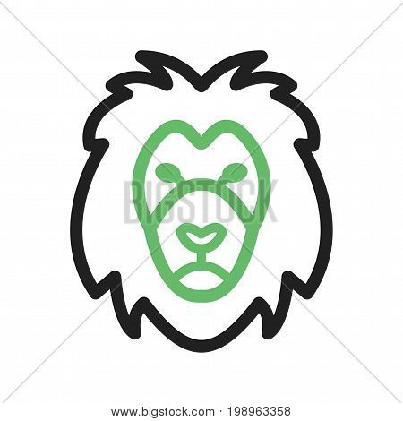 Leo, sign, zodiac icon vector image. Can also be used for Zodiac. Suitable for use on web apps, mobile apps and print media.