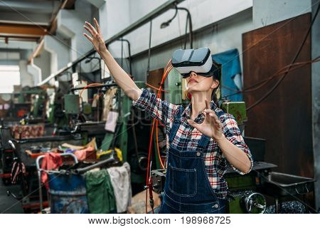 Milling Machine Staff Through 3D Virtual Reality