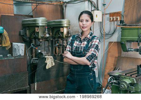 Professional Confident Lathe Company Entrepreneur