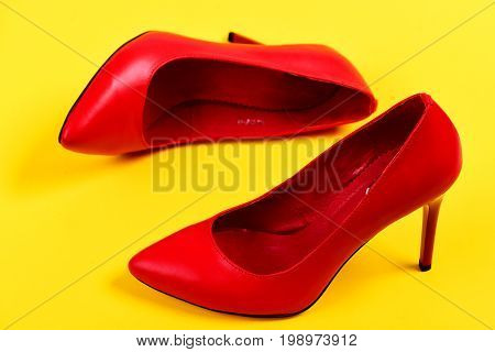 Formal High Heel Footwear As Fashion And Beauty Concept