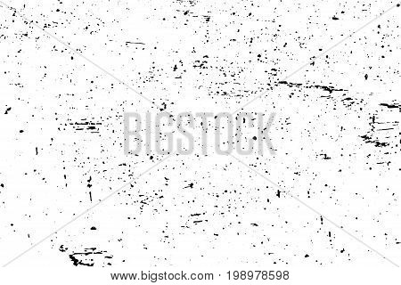 Weathered wood surface vector texture. Aged wooden surface. Black texture on transparent vector overlay. Obsolete timber background. Vintage effect lumber grit texture. Natural wooden board trace