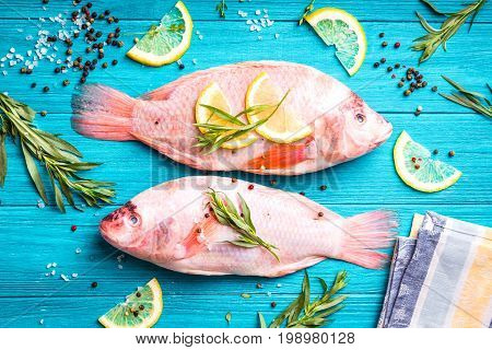 Raw Fresh Fish