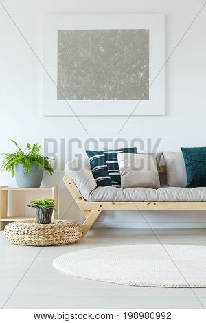 Natural Minimalist Home Decor Mock-up