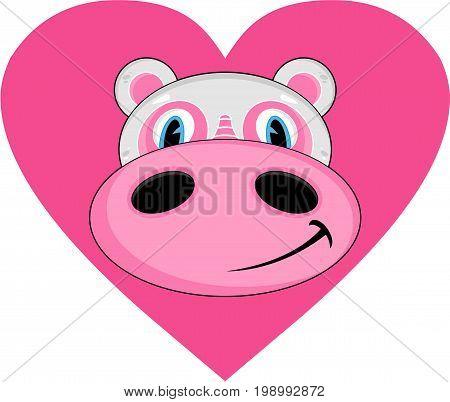 Cartoon Hippo 5