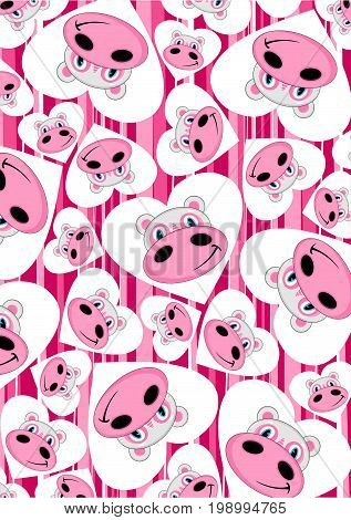 Cartoon Hippo 18