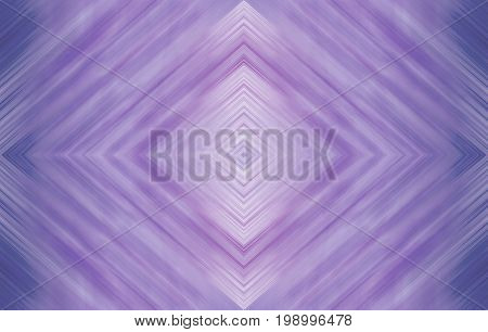 Rhombus of attractive violet. Abstract technology background for templates, layouts, web pages. Strips and geometric shapes with kaleidoscope symmetric effect, wallpaper design