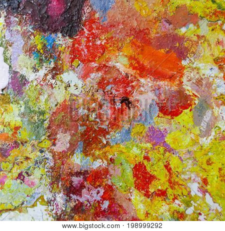 Acrylic Oil paint Color texture. Abstract art Painting background.