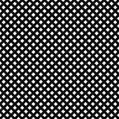 Grid lattice grill regular straight lines geometric pattern poster