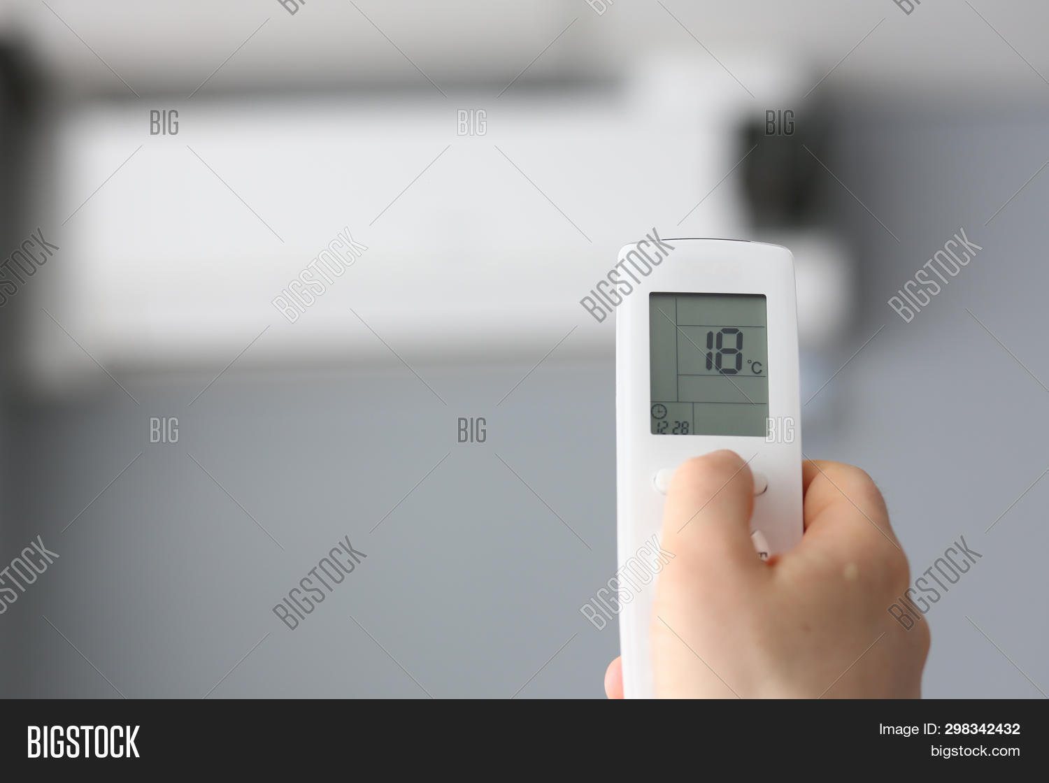 Male Hand Hold Remote Image & Photo (Free Trial) | Bigstock