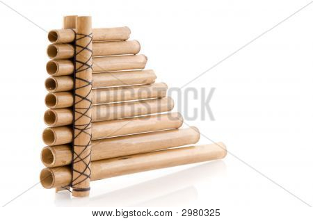 Wooden Panpipes
