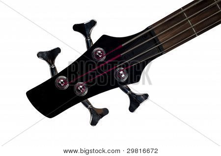 Bass Guitar & Fretboard Top Part