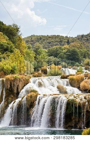 Krka, Sibenik, Croatia, Europe - Experiencing A Sunny Summer At Krka National Park