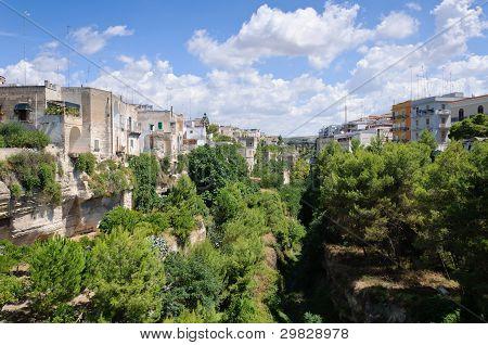 View Of Massafra (italy).