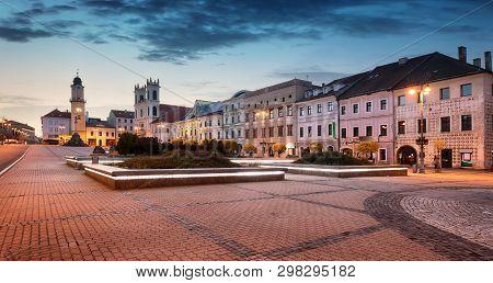 Slovakia, Banska Bystrica In Main Snp Square